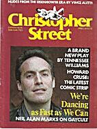 Christopher Street (November 1981) We're…