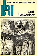 Liedkonkordanz by Gerhard Löffler