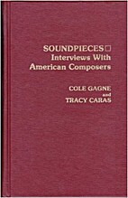 Soundpieces : interviews with American…
