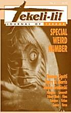 Tekeli-li! : Journal of Terror # 4 by Jon B.…