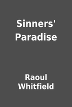 Sinners' Paradise by Raoul Whitfield