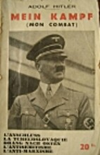 Extraits de Mein Kampf (Mon combat)…