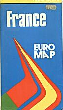 France Euro Map by John Bartholomew & Son