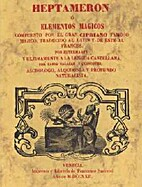 Heptamerón ó Elementos Mágicos by…