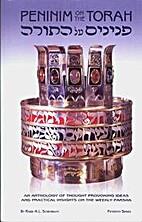 Peninim on the Torah = פנינים על…