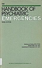 Handbook of psychiatric emergencies by…