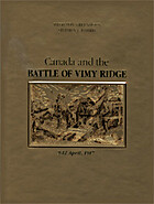 Canada and the Battle of Vimy Ridge, 9-12…