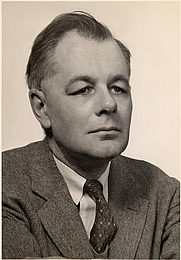 Author photo. George Evelyn Hutchinson at Yale in 1935