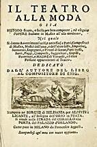 Il teatro alla moda by Benedetto Marcello
