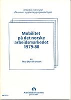 Mobilitet på det norske arbeidsmarkedet…