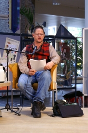Author photo. William T. Vollmann in 2006