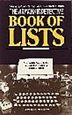 Armchair Detective Book of Lists: A Complete…