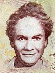 Author photo. By Subido por Jorge Umaña, Propiedad del Banco Central de Costa Rica, ilustrador pendiente de identificar - Own work, Public Domain, <a href=&quot;https://commons.wikimedia.org/w/index.php?curid=11820144&quot; rel=&quot;nofollow&quot; target=&quot;_top&quot;>https://commons.wikimedia.org/w/index.php?curid=11820144</a>