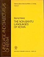 The non-Bantu languages of Kenya (Language…