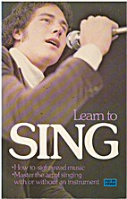 Learn To Sing 📚 by Clarence R. Thorpe