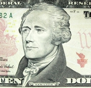 Author photo. Via <a href=&quot;http://commons.wikimedia.org/wiki/Image:Hamilton_Alexander_Portrait_10_dollar_banknote.JPG&quot;>Wikimedia Commons</a>