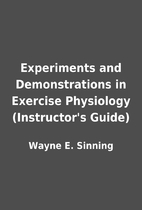 Experiments and Demonstrations in Exercise…