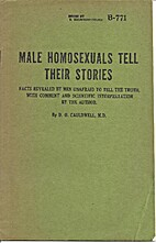 Male Homosexuals Tell Their Stories: Facts…