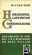 Horizontalistische Godservaring : het geloof…