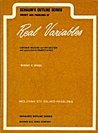 Theory and Problems of Real Variables by…