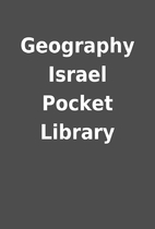 Geography Israel Pocket Library