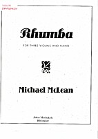 Rhumba for Three Violins and Piano by…