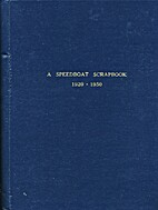 A Speedboat Scrapbook 1920-1950 by William…