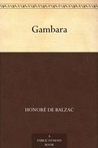 Gambara by Honoré de Balzac