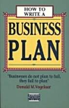 How to write a business plan by Donald M.…
