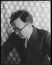 Author photo. Photo by Carl Van Vechten, March 3, 1937 (Library of Congress, Prints & Photographs Division, Carl Van Vechten Collection, reproduction number, LC-USZ62-103962)