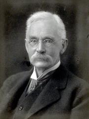 Author photo. Thomas William Rhys Davids, 1917. Photo by Walter Stoneman.