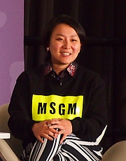 """Author photo. reading at National Book Festival By Slowking4 - Own work, GFDL 1.2, <a href=""""https://commons.wikimedia.org/w/index.php?curid=62180162"""" rel=""""nofollow"""" target=""""_top"""">https://commons.wikimedia.org/w/index.php?curid=62180162</a>"""