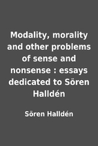 Modality, morality and other problems of…