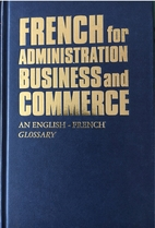French for Administration, Business and…