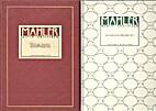Mahler - Fictieve brieven by Hartmut…