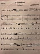 Somewhere [sheet music] by Leonard Bernstein