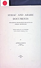 Syriac and Arabic documents regarding…