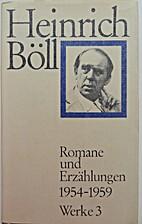 Romane und Erzählungen 1954-1959 Werke…
