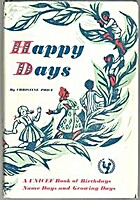 Happy Days: A UNICEF Book of Birthdays, Name…