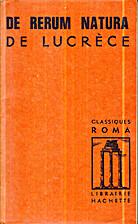De Rerum Natura - extraits by Titus…