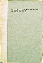 Selections from the Writings of Lord Dunsany…