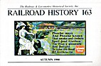 Railroad History 163, Autumn 1990 by H.…