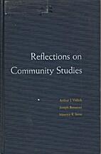 Reflections on community studies by Arthur…