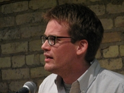 Author photo. Speaking at the Loft Literary Center in Minneapolis By Cadwaladr - Own work, CC BY-SA 3.0, <a href=&quot;https://commons.wikimedia.org/w/index.php?curid=4910063&quot; rel=&quot;nofollow&quot; target=&quot;_top&quot;>https://commons.wikimedia.org/w/index.php?curid=4910063</a>