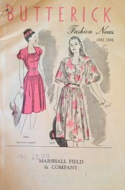 Butterick Fashion News, 1946 June by The…
