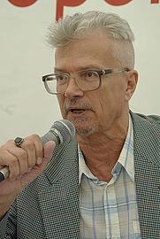 Author photo. Eduard Limonov. Photo by Rodrigo Fernandez.