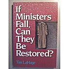 If Ministers Fall, Can They Be Restored? by…