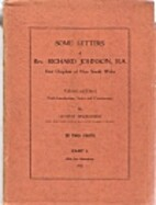 Some letters of Rev. Richard Johnson, B.A.,…