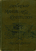 Manual of the Constitution of the United…