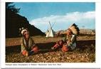 Flathead Indian Encampment ….